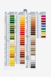 cartella colori dmc