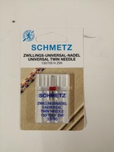 AGHI gemellare 3,0/90 Schmetz Misura ago 90 distanza 3 mm